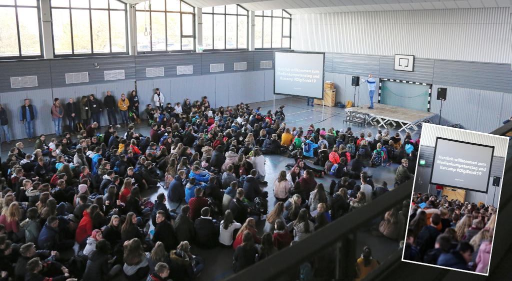 'DigiSnick' – ein besonderer Projekttag rund um Medien an der Eichenlaubschule