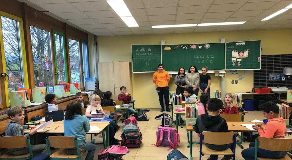Vorlese-Projekt der Eichenlaubschule Weiskirchen