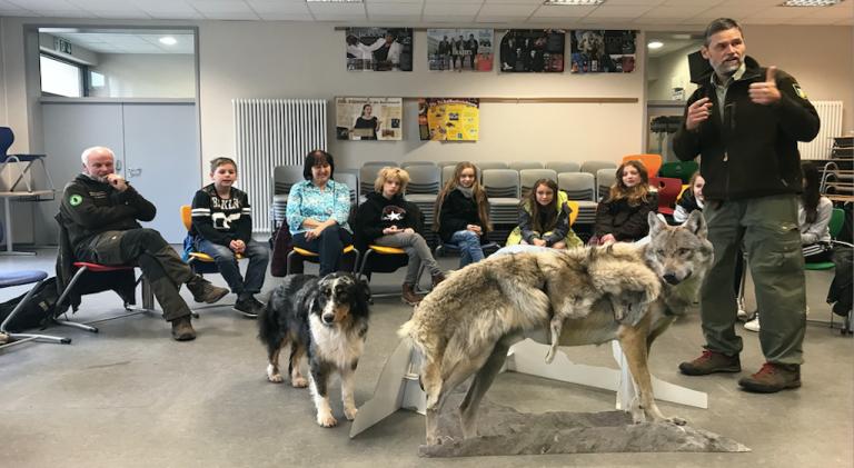 Wolfsprojekt an der Eichenlaubschule Weiskirchen