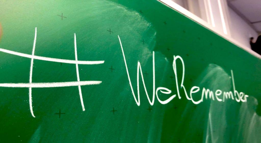 Wir erinnern – #weremember – ein Projekt der Eichenlaubschule Weiskirchen